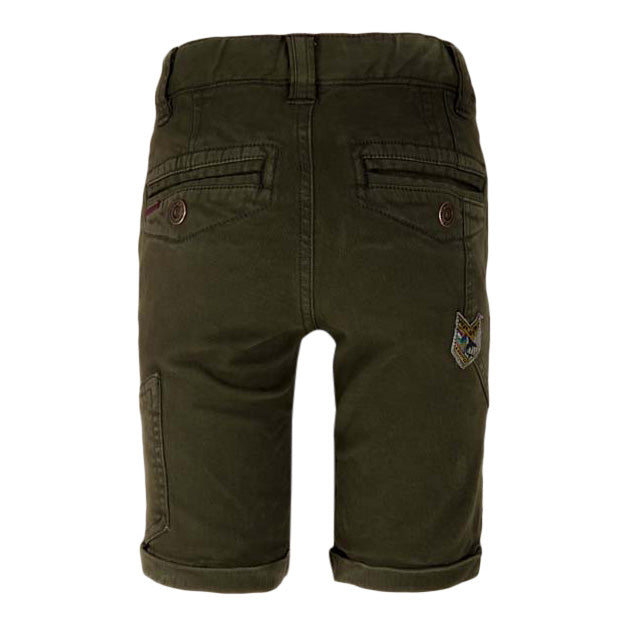 Alanzo Short Chino Winter-Mos Achterkant