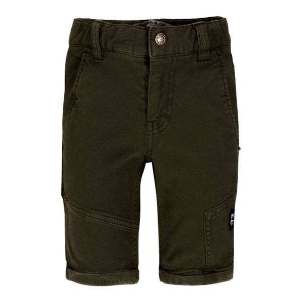 Alanzo Short Chino Winter-Mos Voorkant