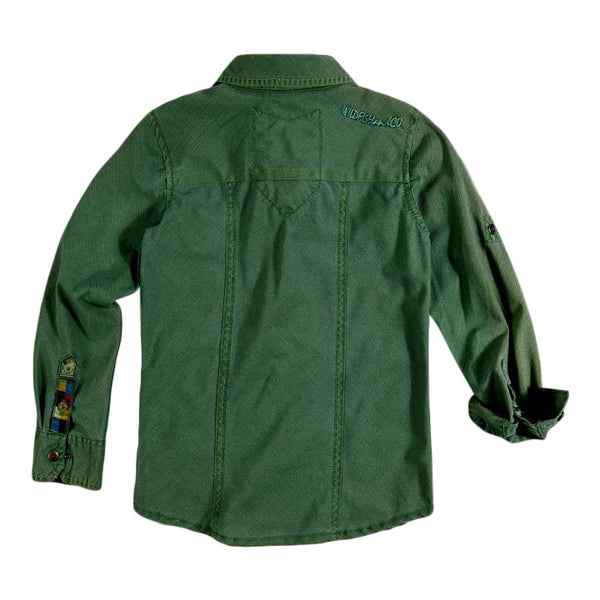 Cody Shirt Deep Green