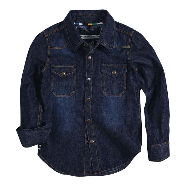 Eloy Shirt Dark Chambray