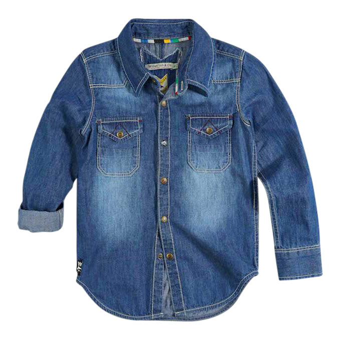 Eloy Shirt Light Chambray