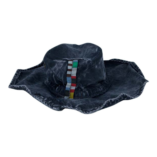 Clint Hat Crown Blue