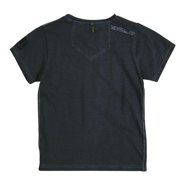 Niquel B T-shirt Crown Blue