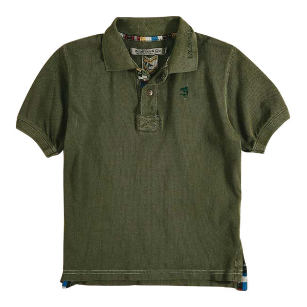 Morris Polo Winter Moss