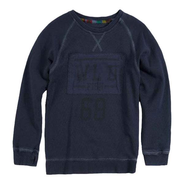 Santos A Sweater Crown Blue