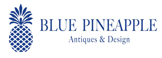 Blue Pineapple Antique