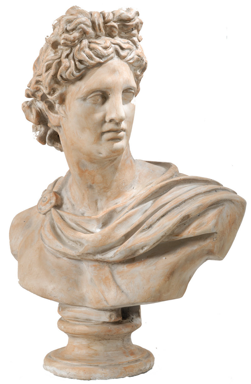 Bust Head Statue Handmade Sculpture of Greek Roman God Ⅱ