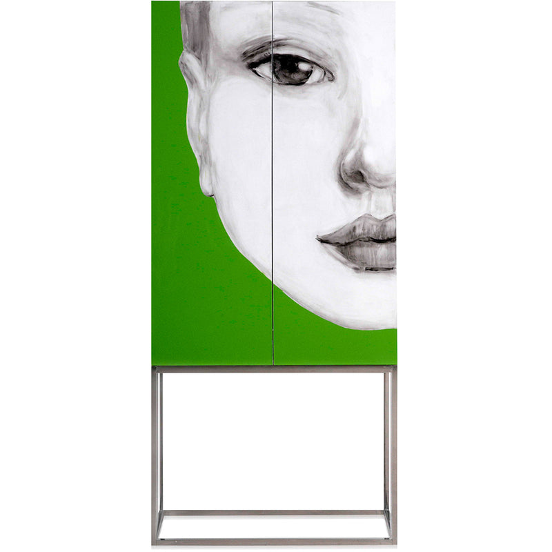 Home Decoration Face Painting Rack Green