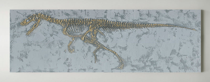 Gold Dinosaur Wall Art