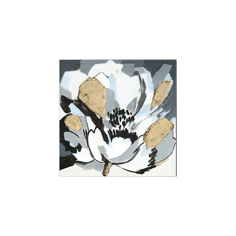 Modern Abstract Flower Oil Painting