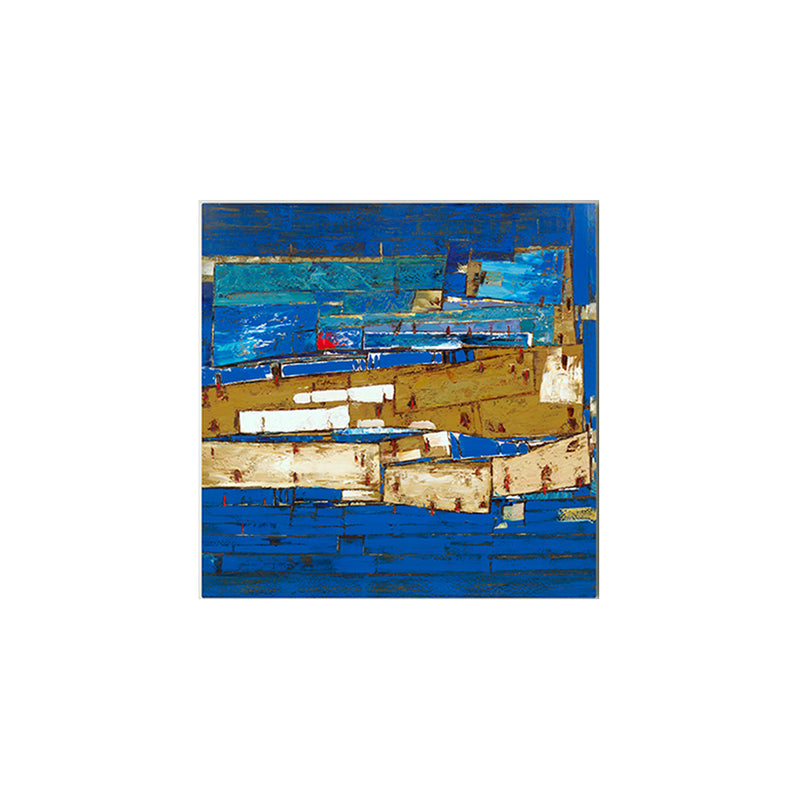 Blue Modern Abstract Painting