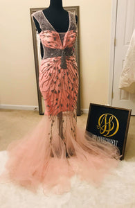 Mermaid formal gown