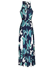 Load image into Gallery viewer, Floral Open Shoulder Maxi Dress