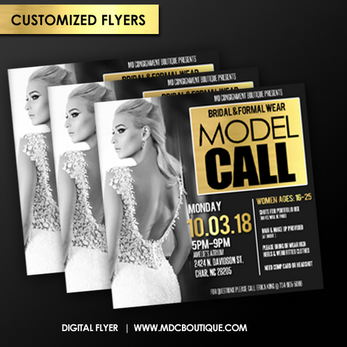Customized Digital Flyer