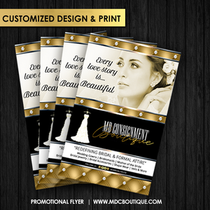 Custom Designed Promotional Flyer