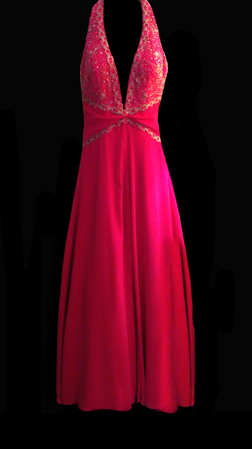 MD Consignment Anna Scott Designs Pink Embellished Gown