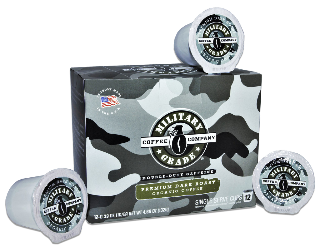 2 Boxes of Military Grade Coffee - Dark Roast - K Cups