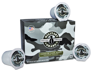 Military Grade Coffee - Dark Roast - K Cups