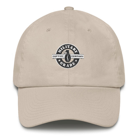 Image of Military Grade Coffee (black and white) Hat