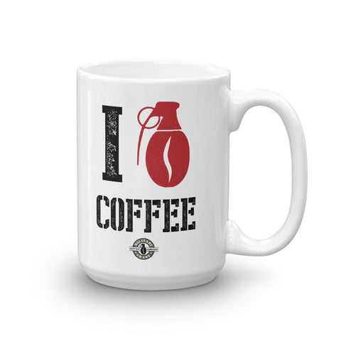 Image of I Love Coffee Mug