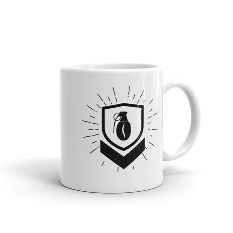 Military Grade Coffee Badge Mug