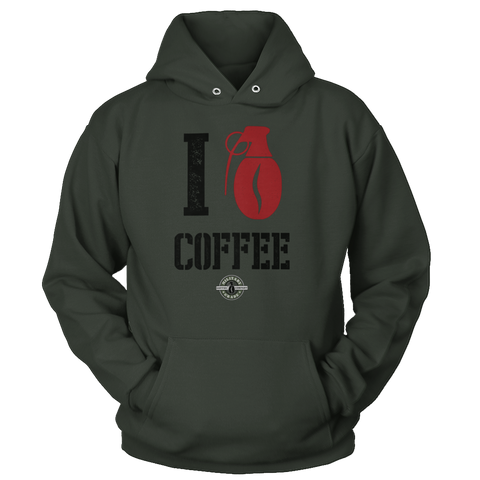 Image of I Love Coffee Hoodie