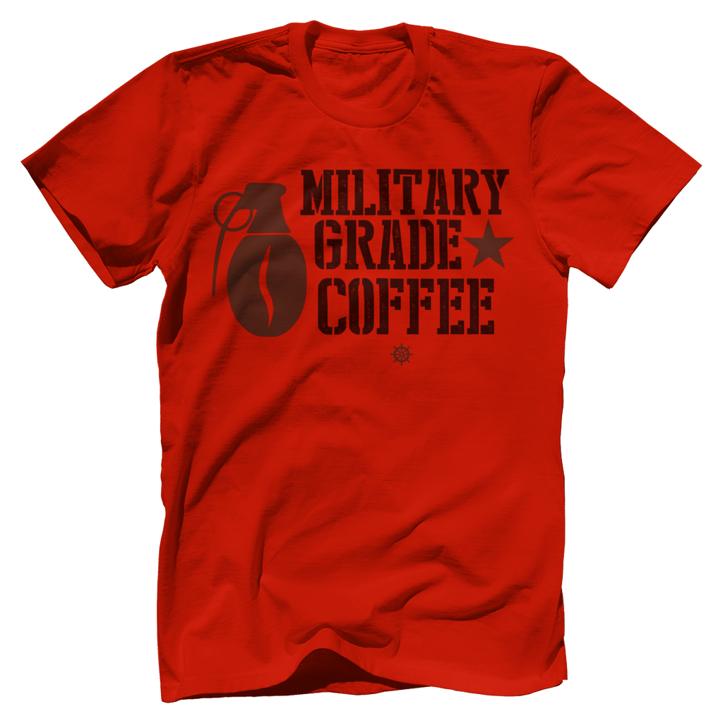 Military Grade Coffee Star T-Shirt