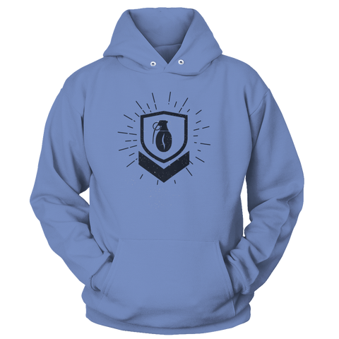Military Grade Coffee Badge Hoodie