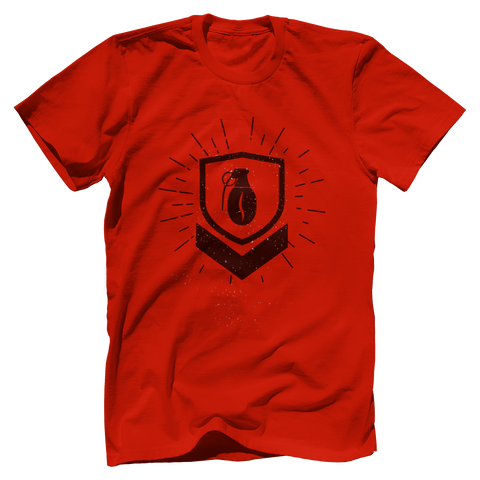 Military Grade Coffee Badge T-Shirt