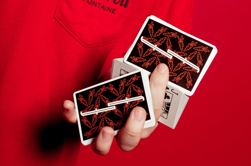 Carrot Fontaine V2 Playing Cards