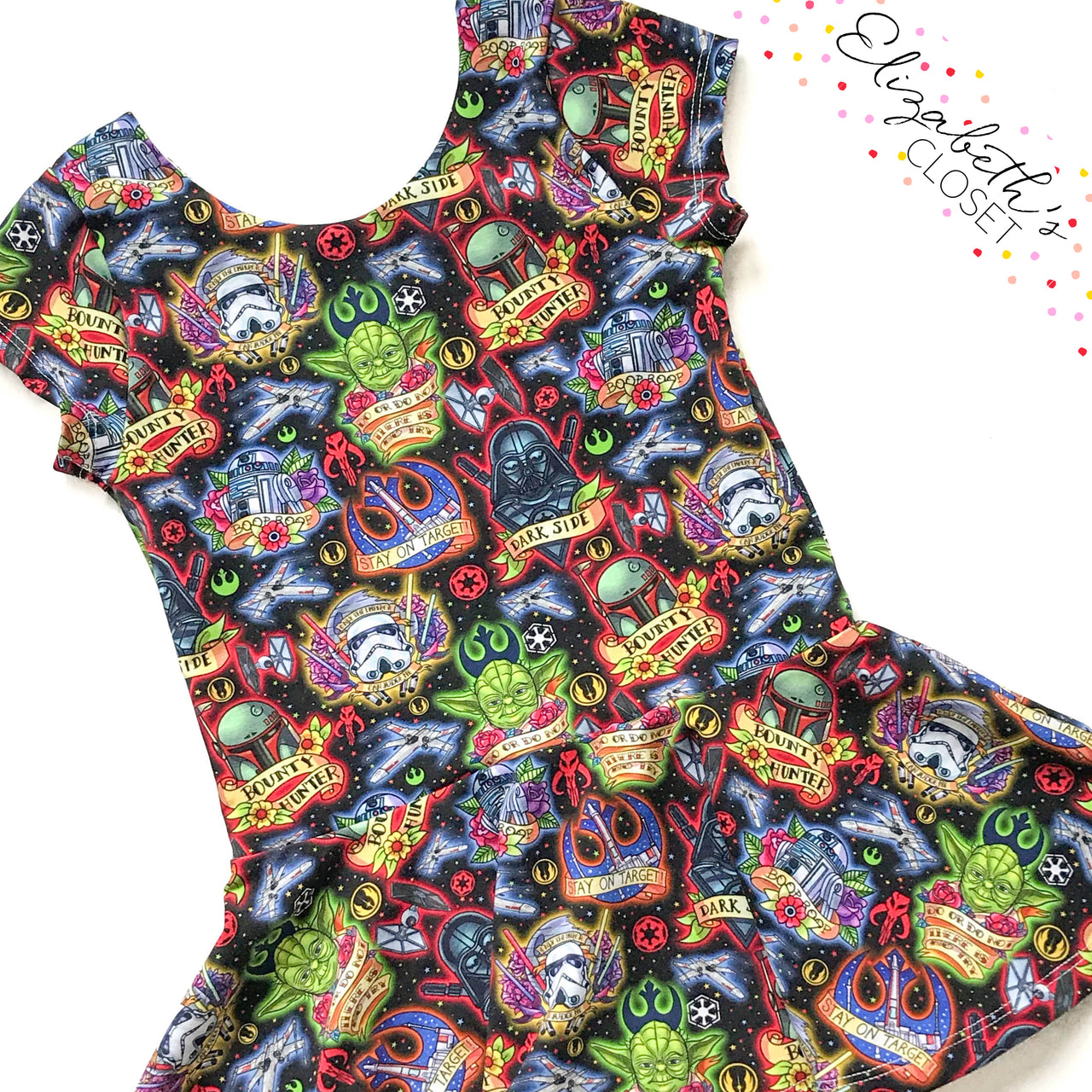 Galaxy Wars Peplum Top