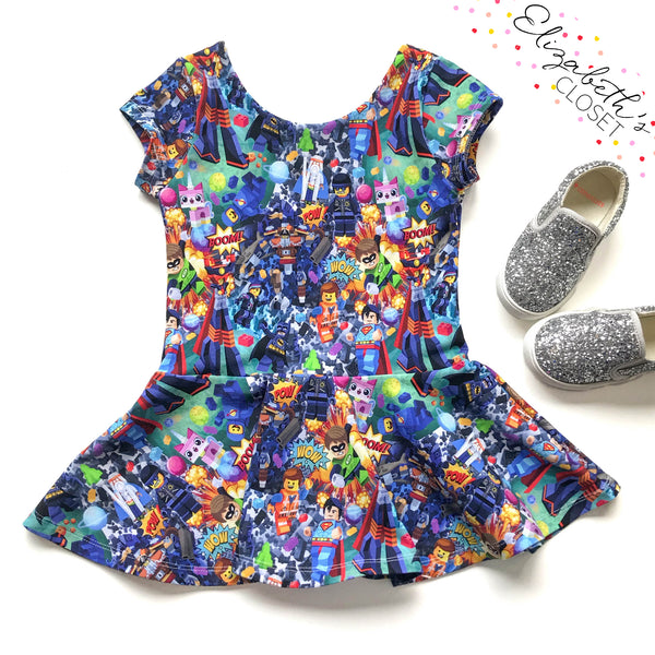 Everything is Awesome Peplum Top