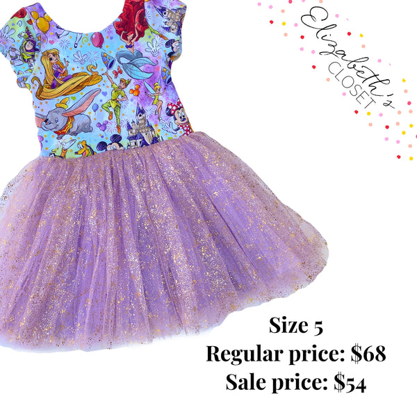 Magical Vacation Tulle Dress, size 5