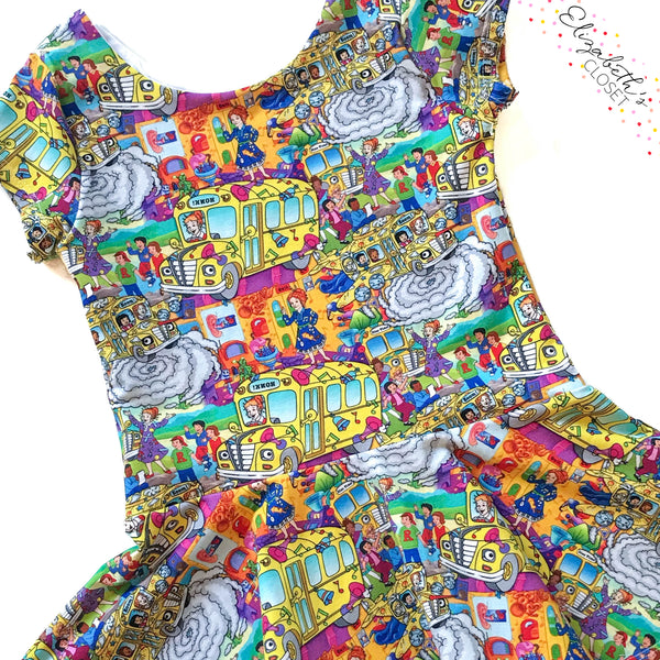 Wacky Science Teacher Peplum Top