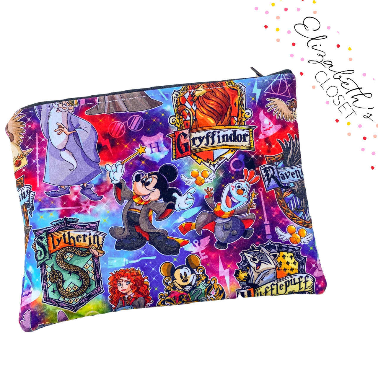 Wizard Mouse Reusable Snack Bag