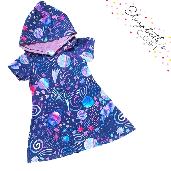 Galaxy Hooded Swing Tunic