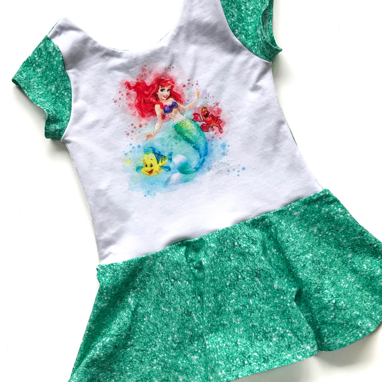 Mermaid Princess Peplum Top