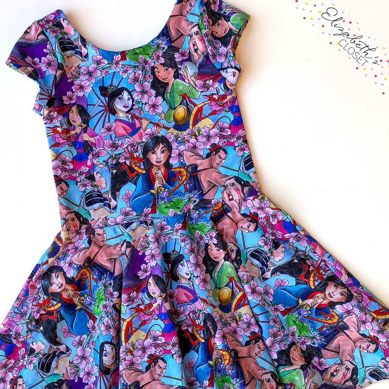 Flower that Blooms Princess Dress