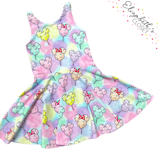 Cotton Candy Mouse Dress