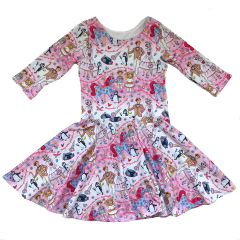 Magical Nanny Twirl Dress