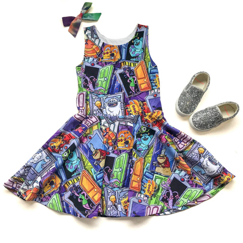 Monsters Inc Twirl Dress