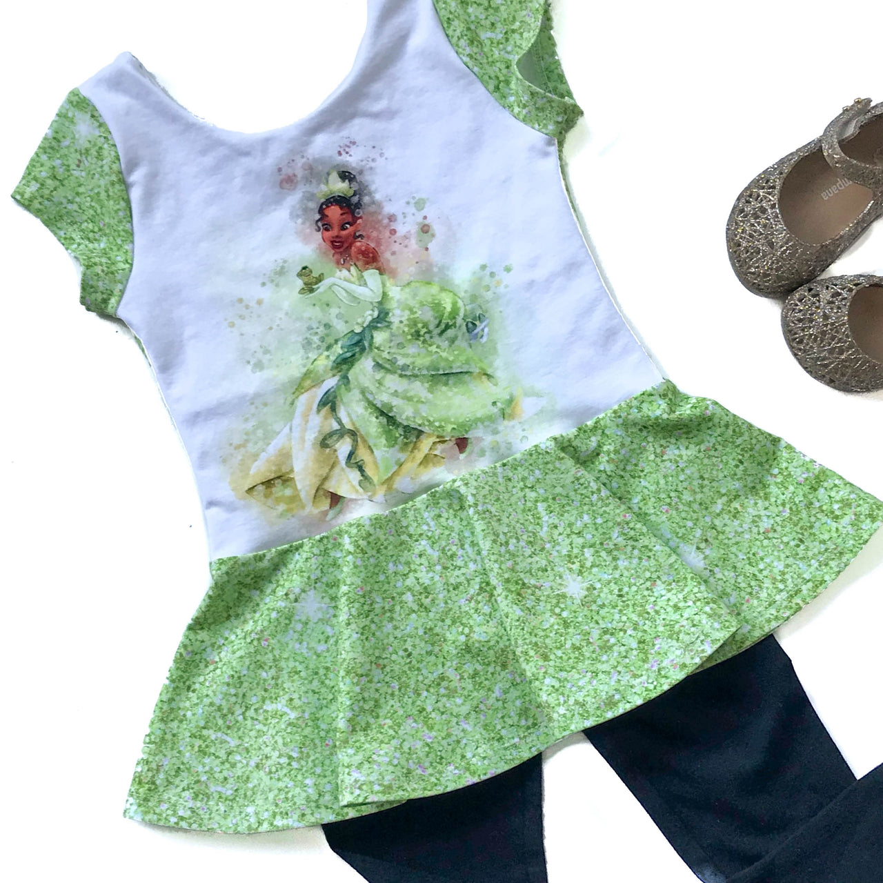 Kiss the Frog Princess Peplum Top
