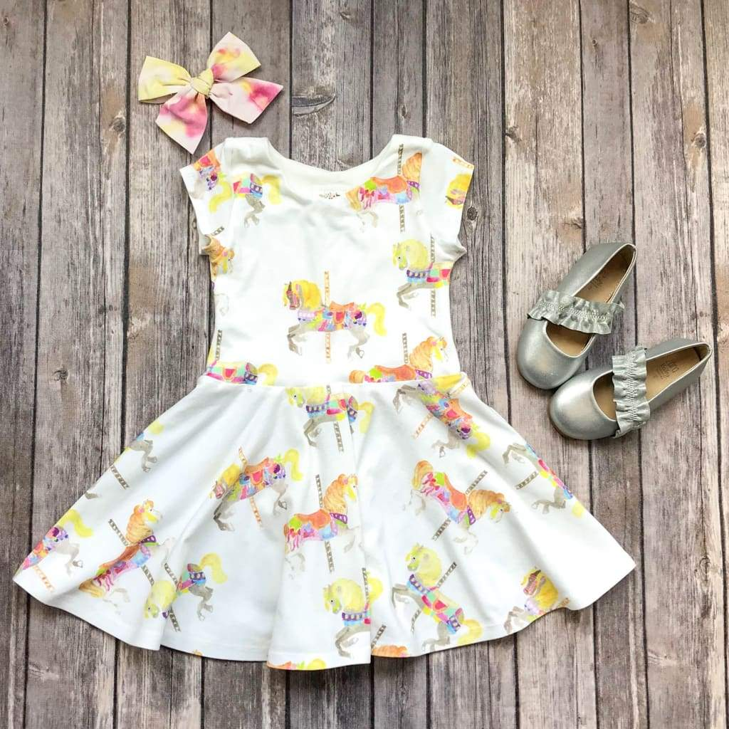 Carousel Horse Dress - Twirl Dresses - Elizabeth's Closet