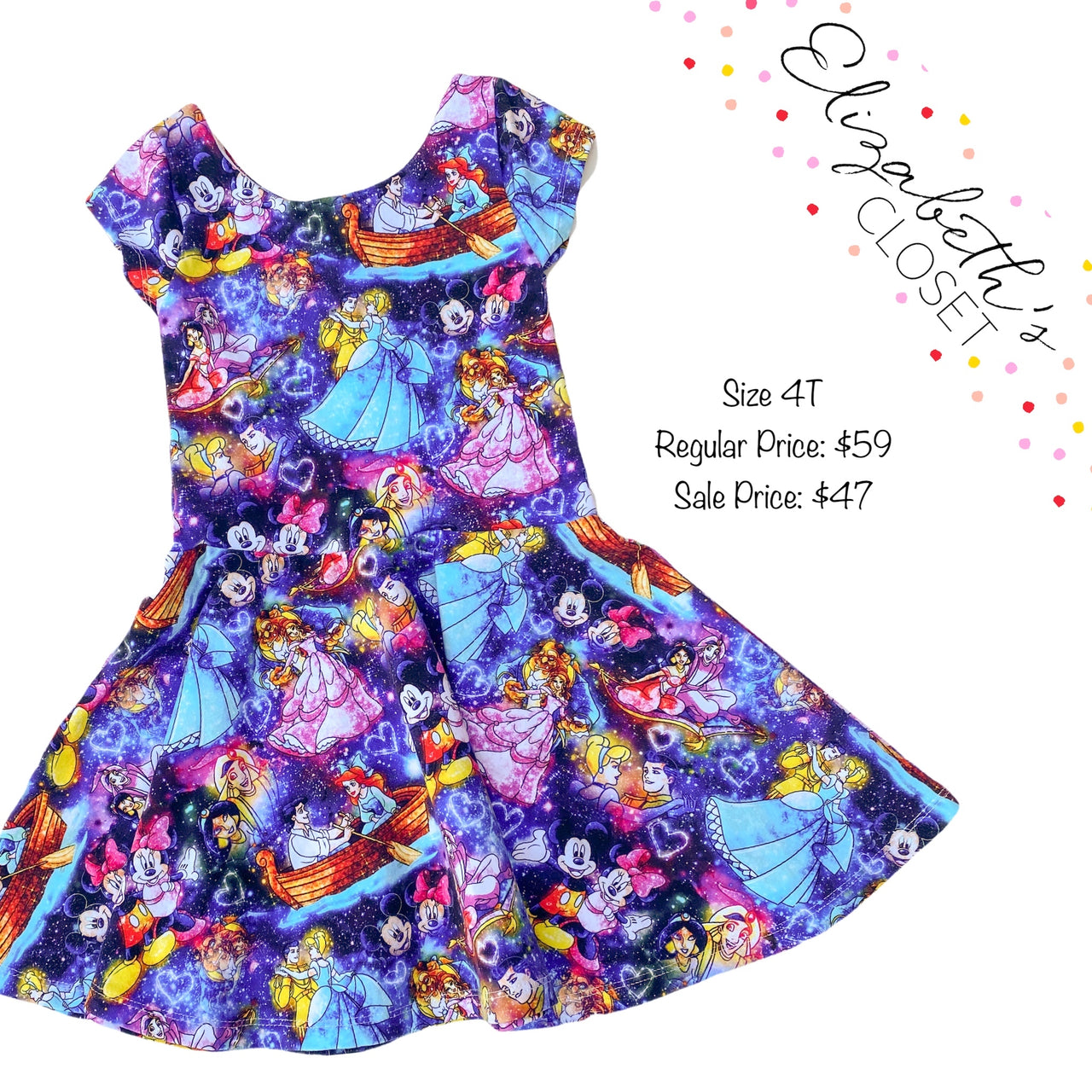 Magical Couples Dress, size 4T