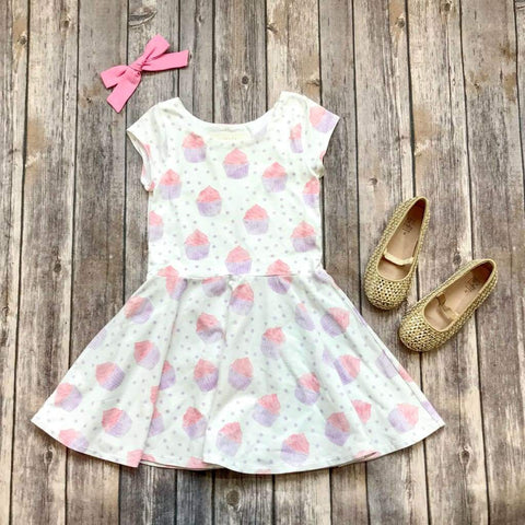 Cupcake Birthday Twirl Dress - Twirl Dresses
