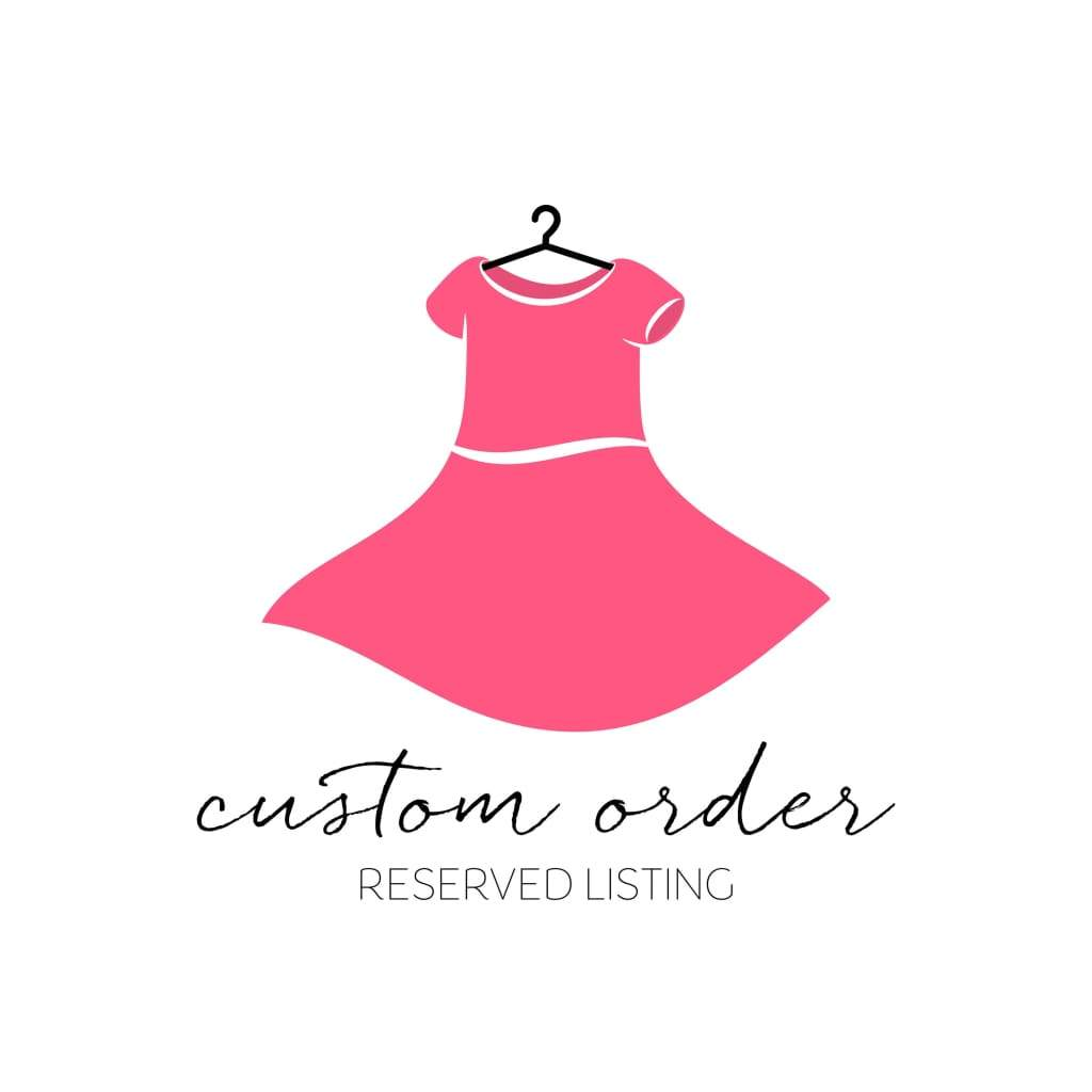 Custom Listing for Heather - Elizabeth's Closet