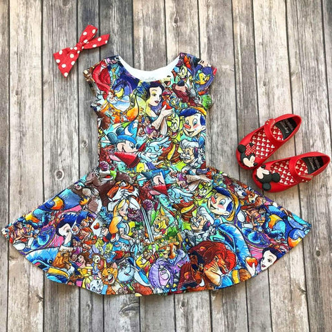 Disney Character Twirl Dress - Twirl Dresses