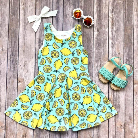 Lemon Twirl Dress - Twirl Dresses