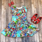 Pixar Disney Twirl Dress - Twirl Dresses