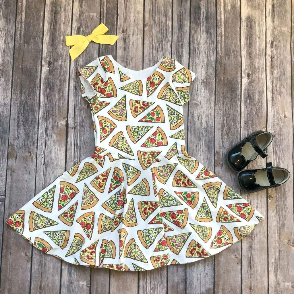 Pizza Party Twirl Dress - Elizabeth's Closet